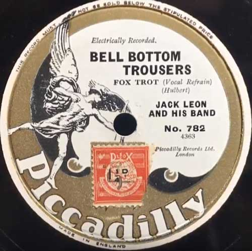 Bell-Bottom Trousers