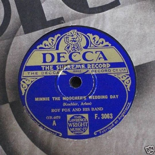 Minnie The Moocher's Wedding Day